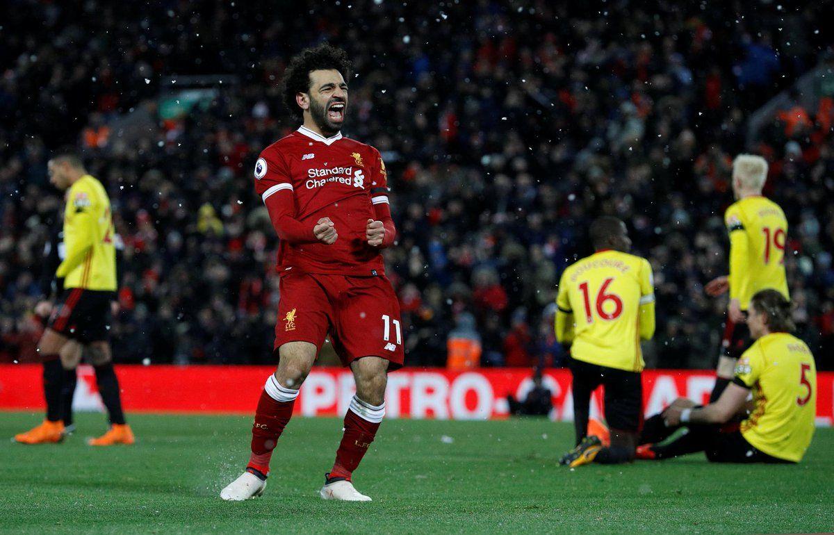 Mo Salah v Watford FT: 4 goals, 1 assist. 5-0 | Uefa ...