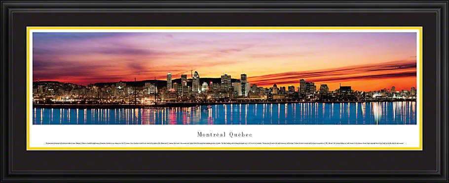 Montreal Quebec Skyline Picture Panoramic Picture 19995