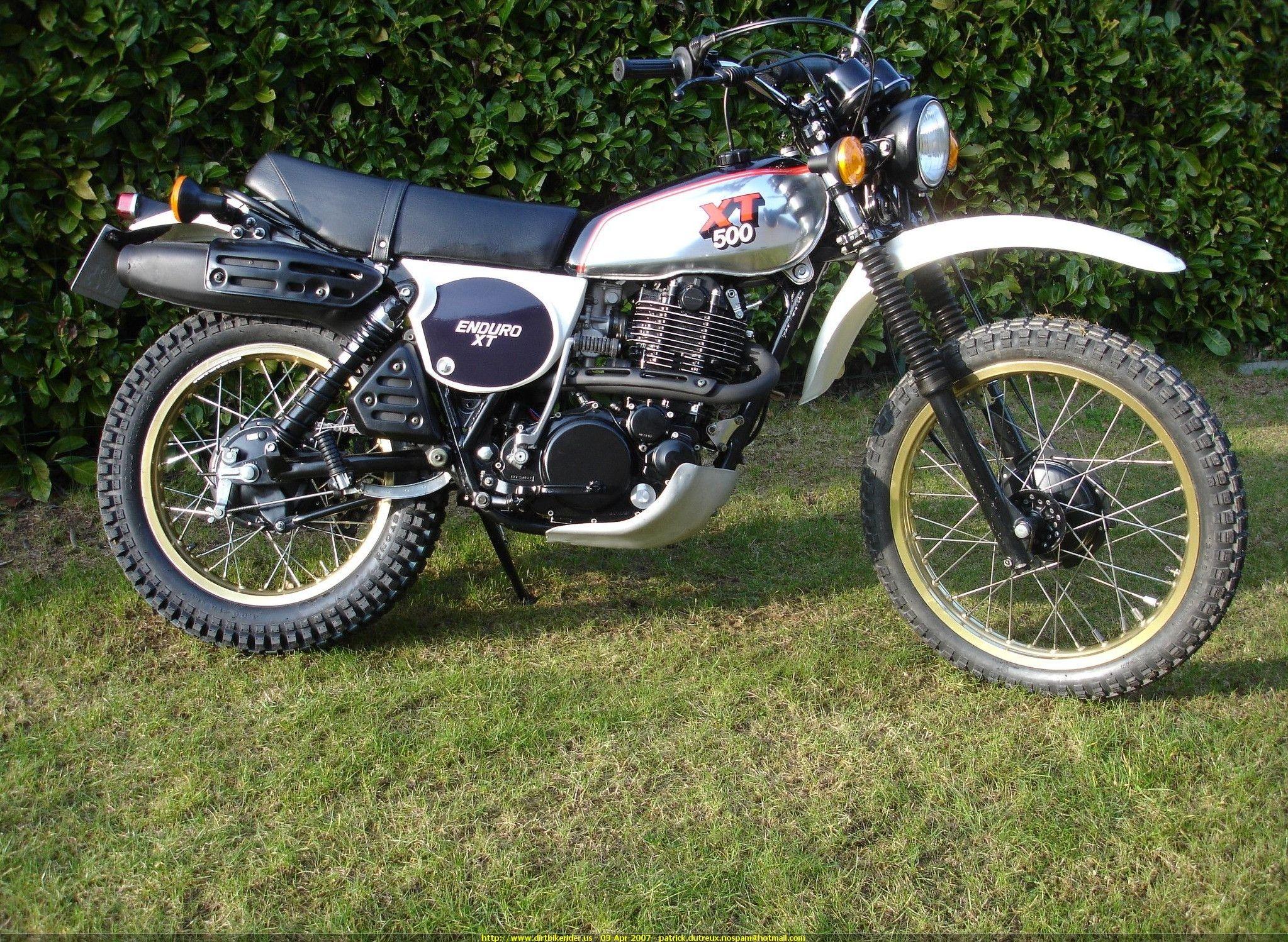 Yamaha xt 500 pour bricole xt 500 pinterest for Yamaha xt500 motorcycle