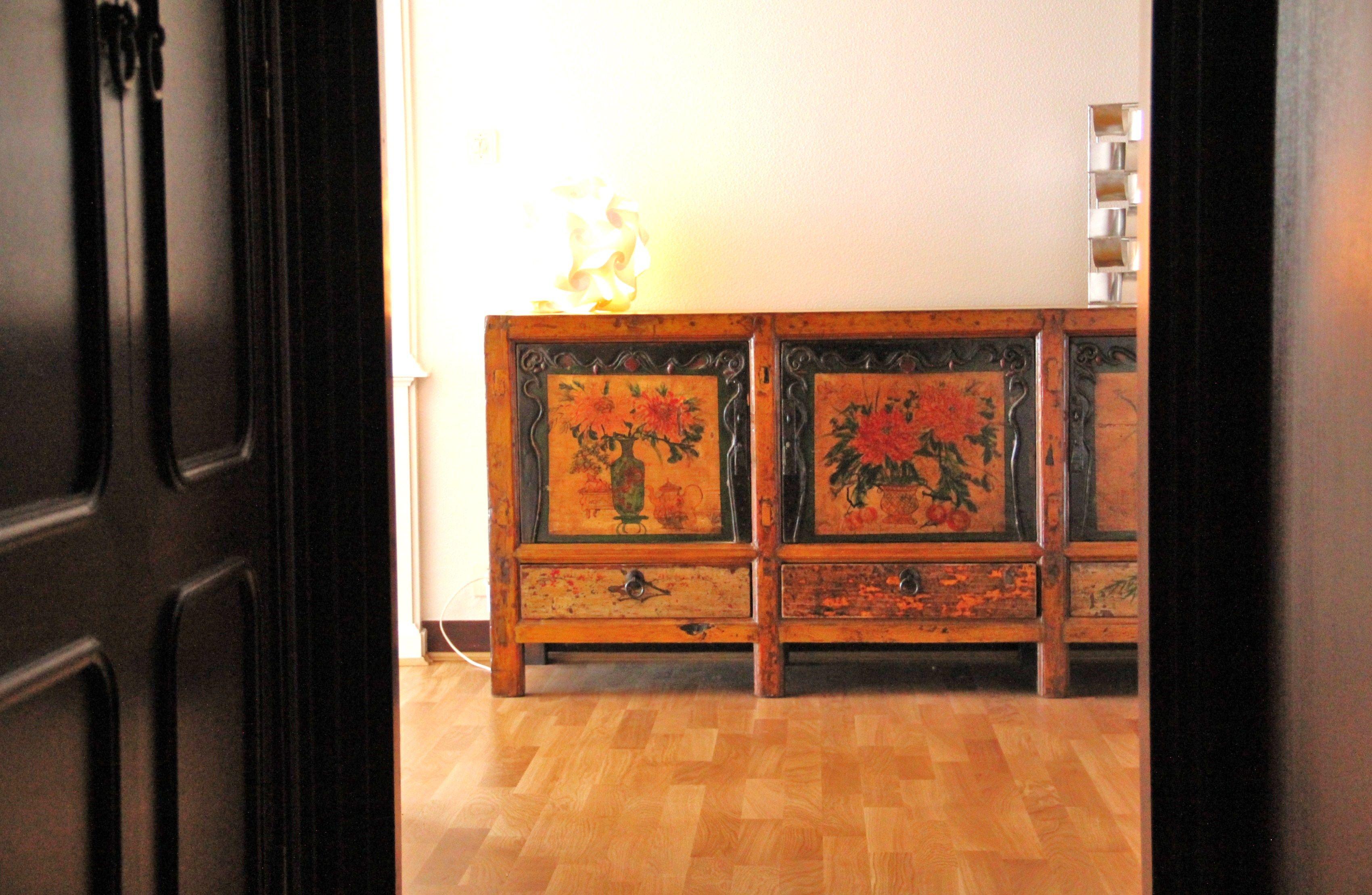 meuble chinois meuble buffet bois