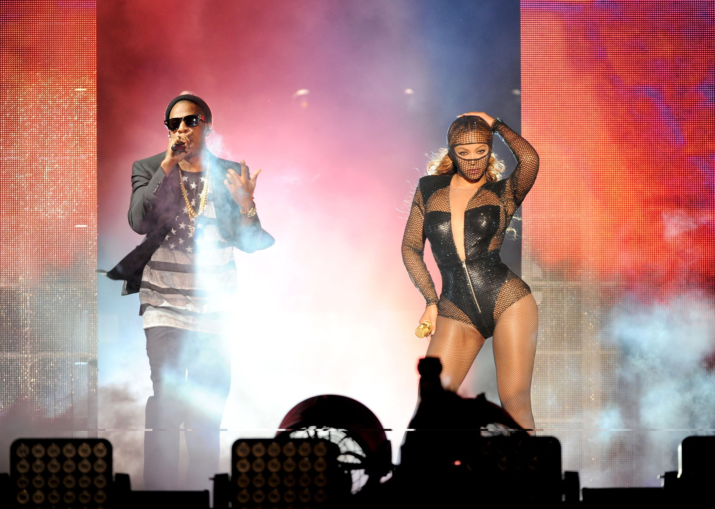 On The Run Tour in Los Angeles! #Beyonce #JAYZ