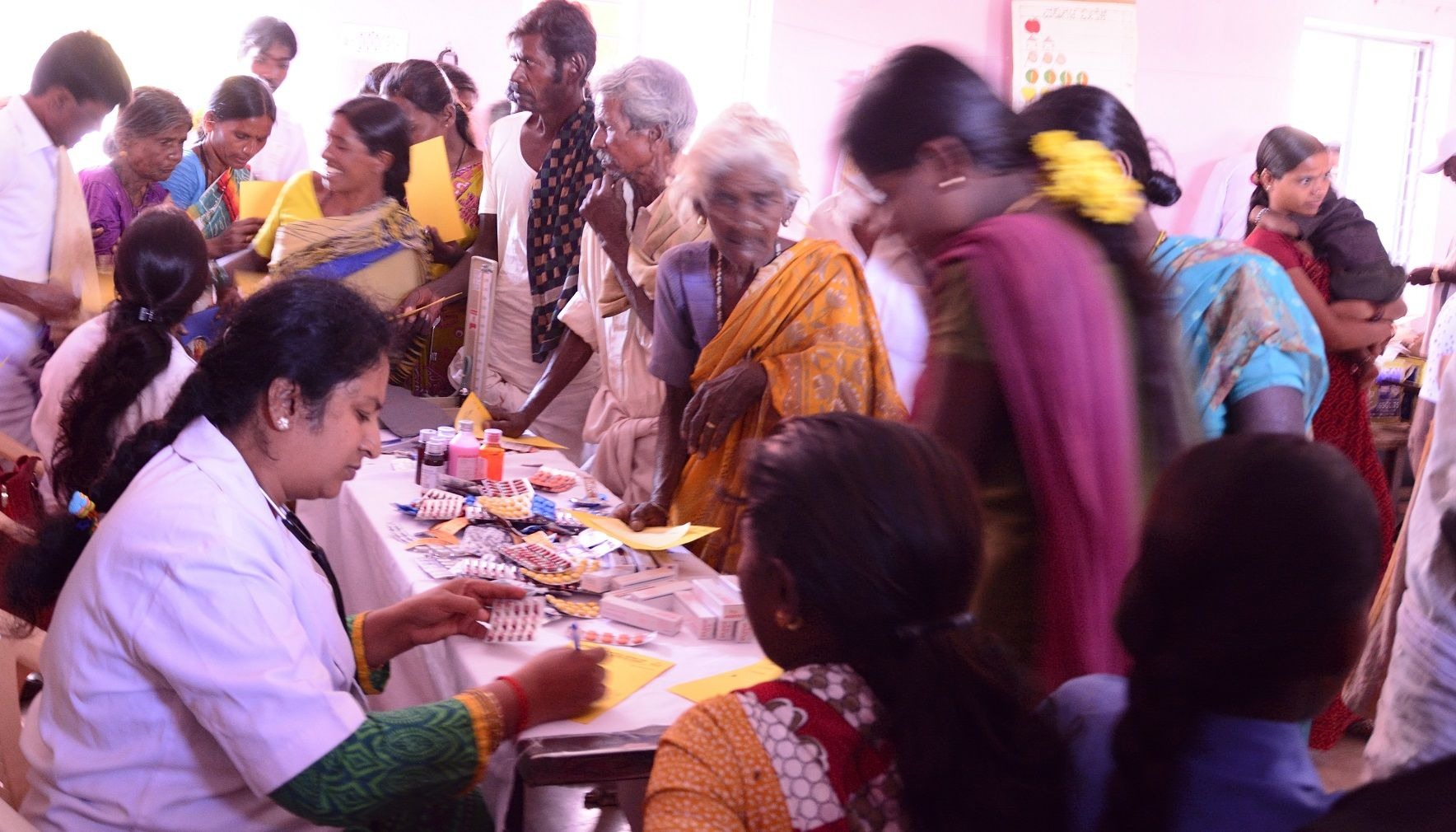 Community health camp in india csr publichealth