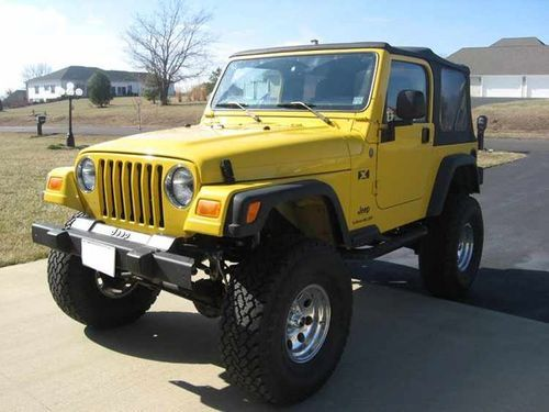 Yellow Jeep Wrangler Want To Add To My Yellow Collection