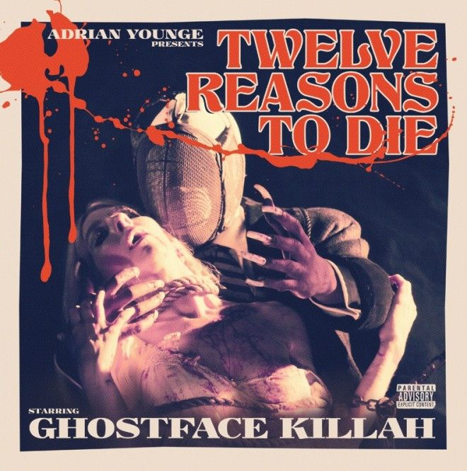 Cover Ghostface Killah Twelve Reasons To Die Vinyl Lp Vinyl Rapper