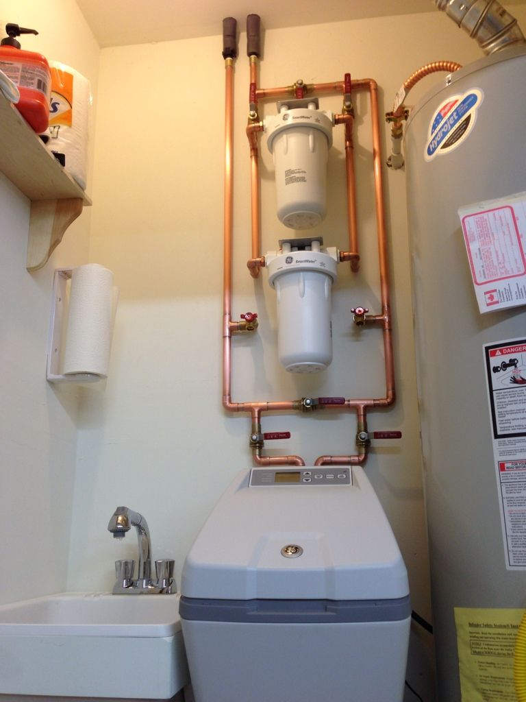 My Whole House Water Filter And Softener Project Whole House