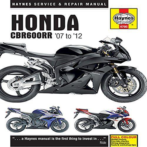 honda cbr600rr 07 12 haynes owners workshop manual honda rh pinterest com Honda ATV Service Manual Honda ATV Service Manual