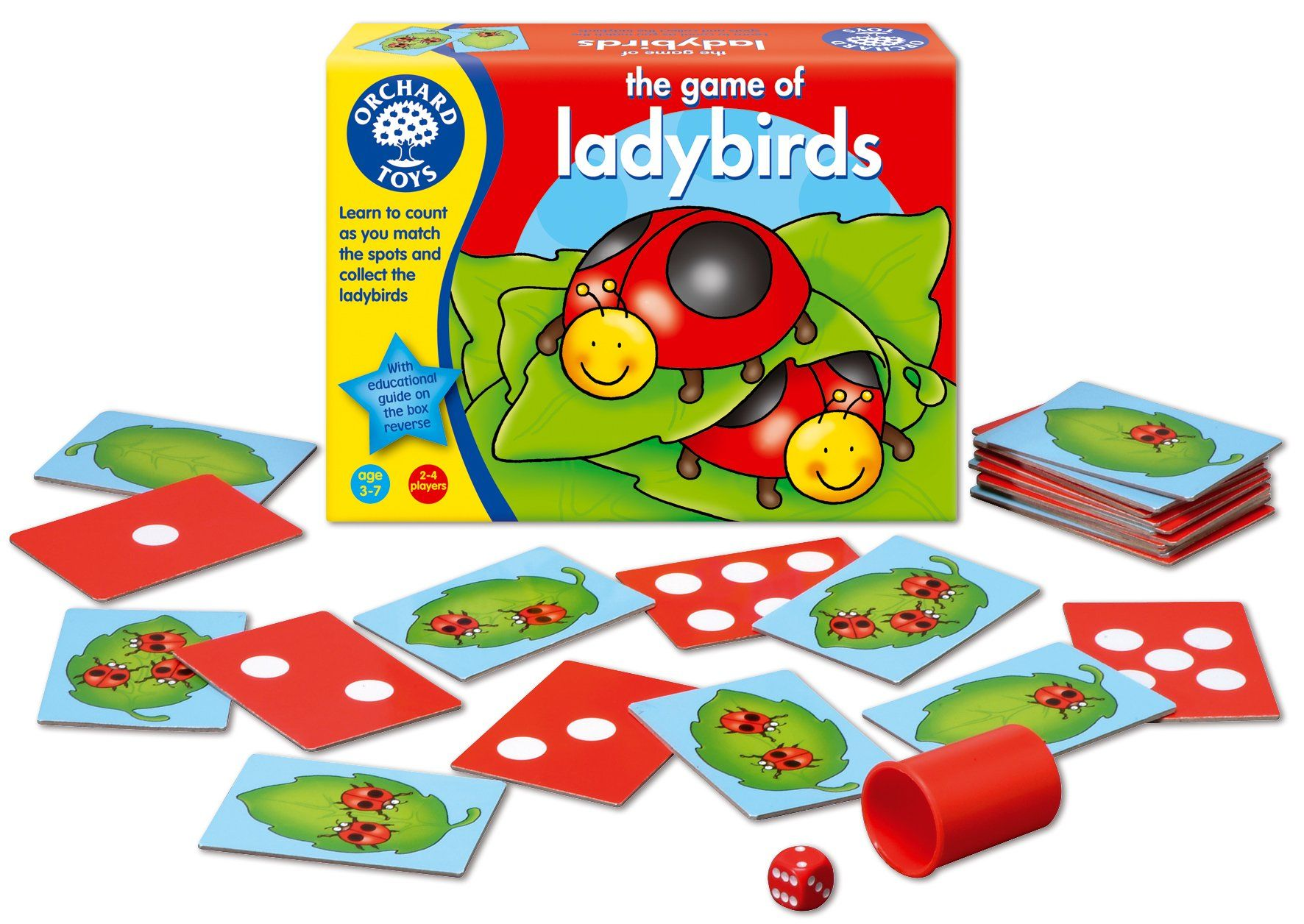 Orchard Toys The Game of Ladybirds: Amazon.co.uk: Toys & Games ...