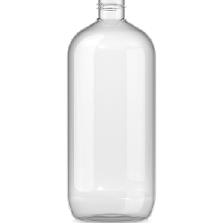 500ml Clear Plastic Bottle 24mm Neck Pet Plastic Bottle Clear Plastic Bottles Plastic Bottles