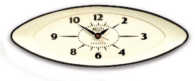 掛け時計NEWGATEニューゲート BULLITTブラック/時計 掛け時計 インテリア雑貨の通販店cecicela【セシセラ】