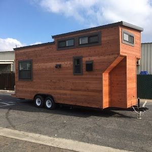 A Contemporary Tiny Home On Wheels From California Tiny House. The 24u0027 Home  Has