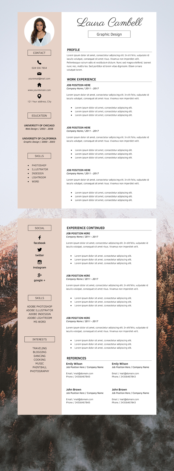 Professional Resume Companies Professional Cv Layout Resume Template Simple Cv Template Professional Modern Resume Template Cv Template Free