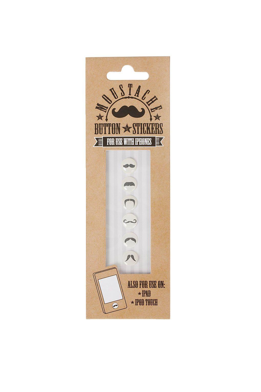 Moustache Phone Stickers