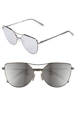 f5b60eb67d4ff TED BAKER LONDON Designer 57mm Geometric Aviator Sunglasses