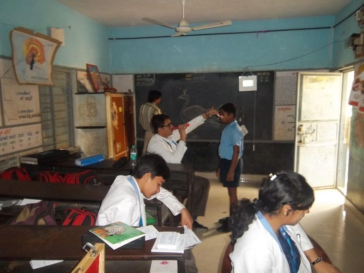 school eye screening , School Health CSR Initiatives in