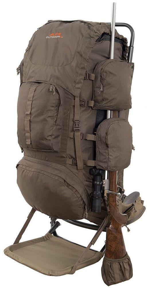 Hunting Backpack Pack Bag Freighter Frame Meat Hauler Rifle Holder ...