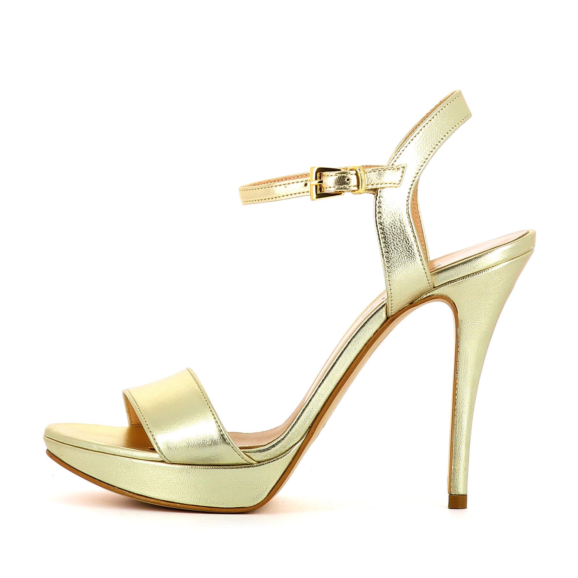 Sandaletten Damen, Ledersandalen