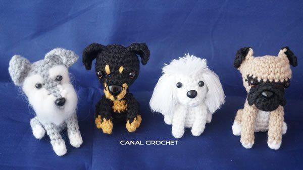 DIY Como hacer perritos amigurumi | Pinterest | Amigurumi patrones ...
