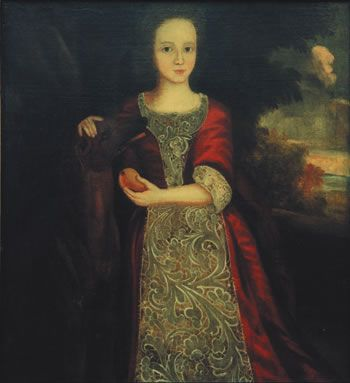 This is a portrait of William Shakespeare's daughter ...