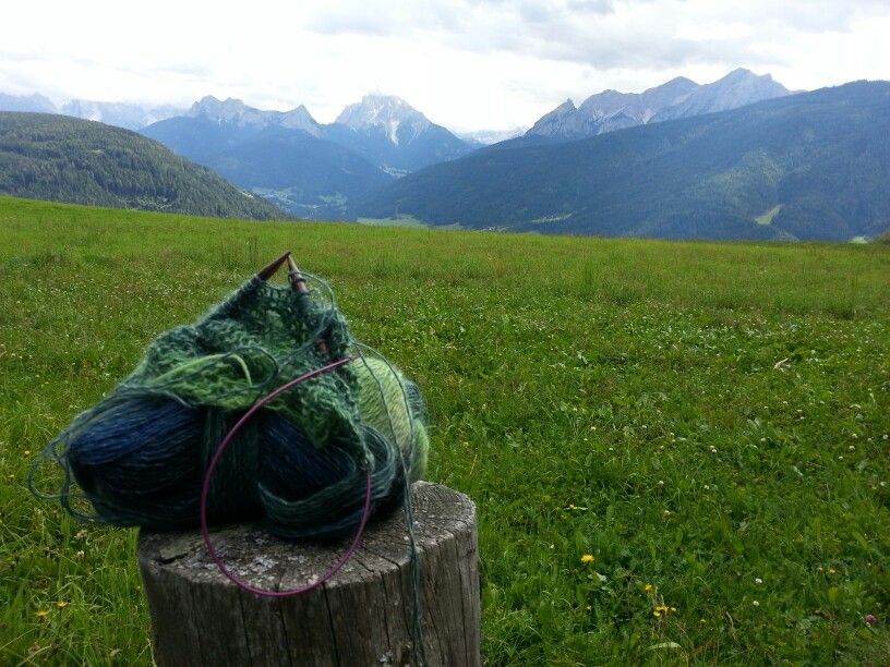 My shawl and my Mountains