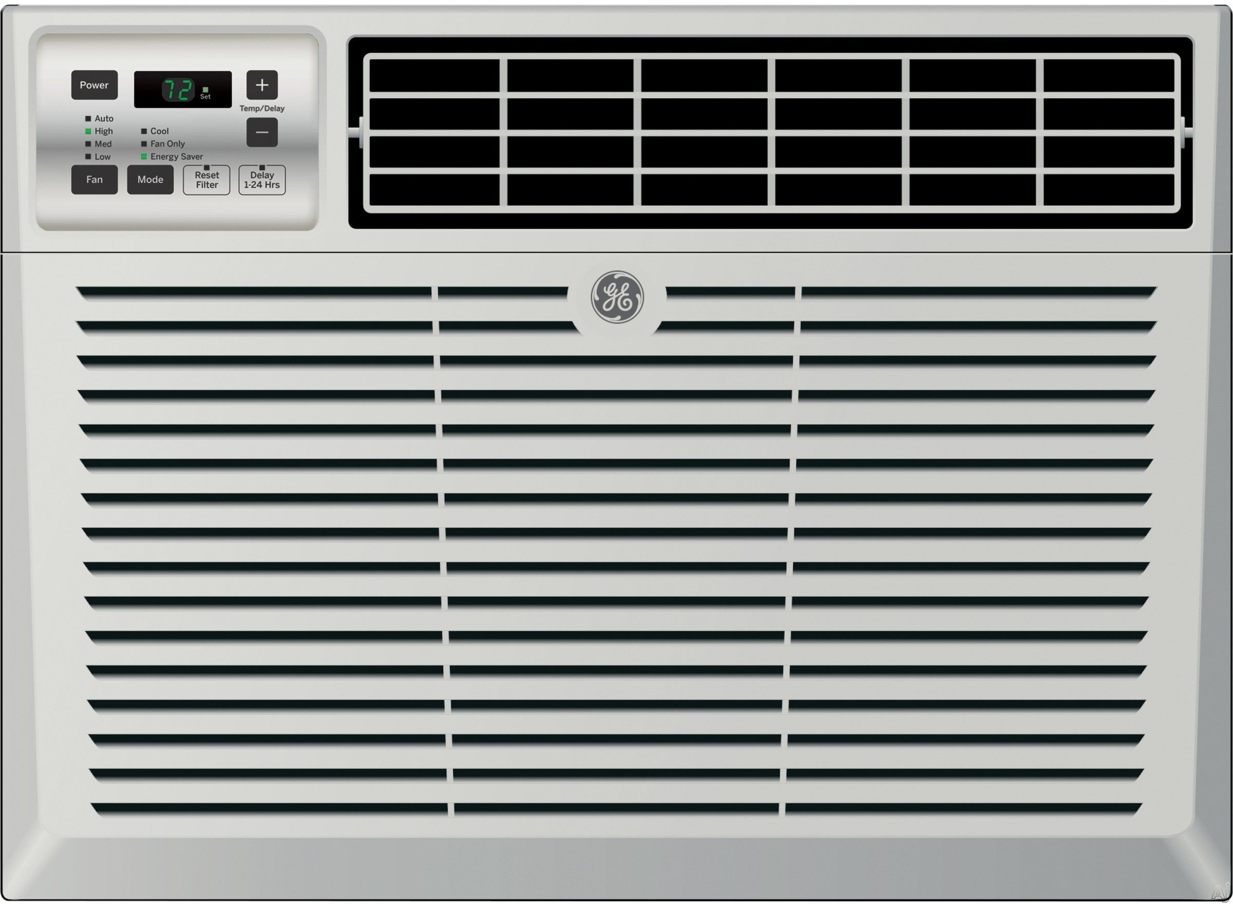 Ge Aec12av 12 050 Btu Room Air Conditioner With 290 Cfm 12 1 Eer Wifi Connect 3 4 Pts Hr Dehumidification 3 Fan Speeds Wifi Connect Electronic Digital The Window Air Conditioner Room Air Conditioner Room Air Conditioning