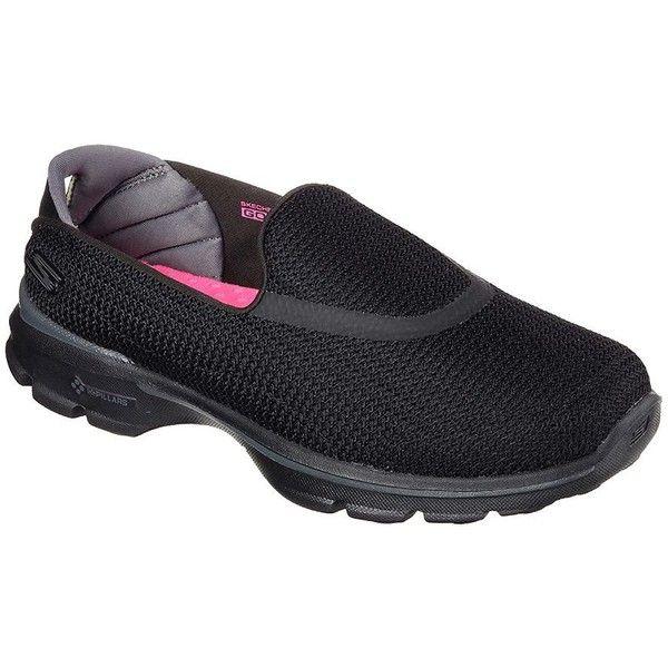 SKECHERS GO STEP ORIGINAL SLIP ON TRAINER CASUAL COMFORT WALKING SHOE BLACK 4