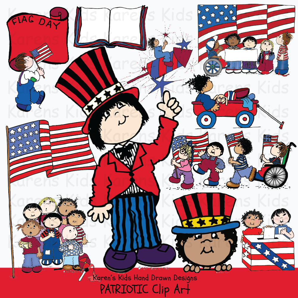 Clip Art Patriotic Kids Clip Art Art Veterans Day Clip Art