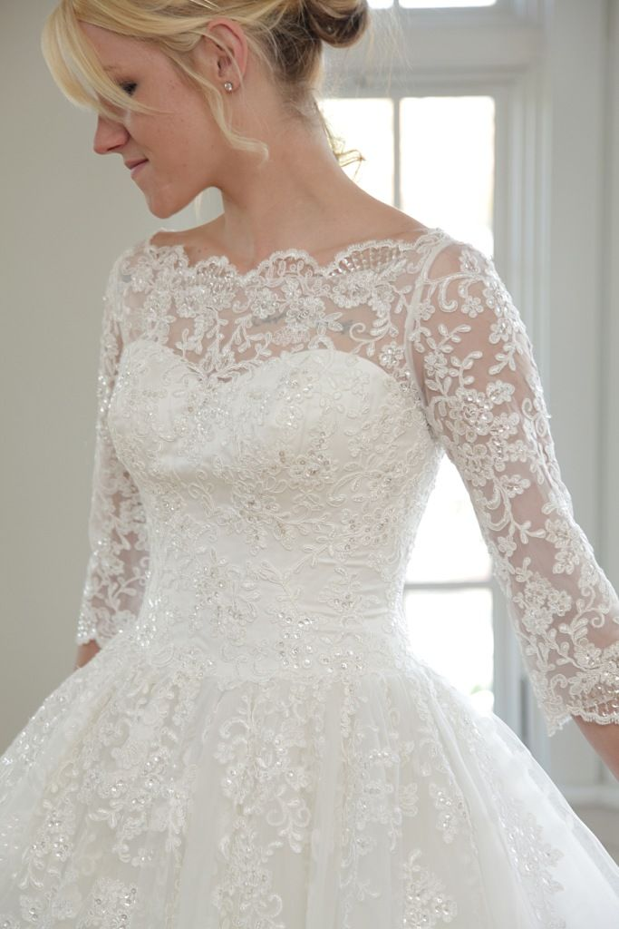 Epoch by modest couture modest wedding dresses arachne for Modest lace wedding dresses