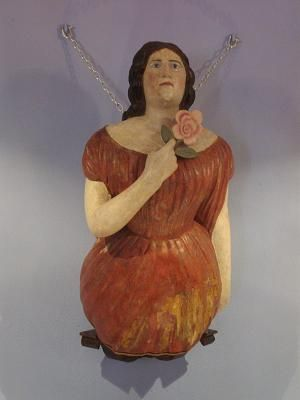 Figurehead in the naval museum, Santa Cruz de la Palma