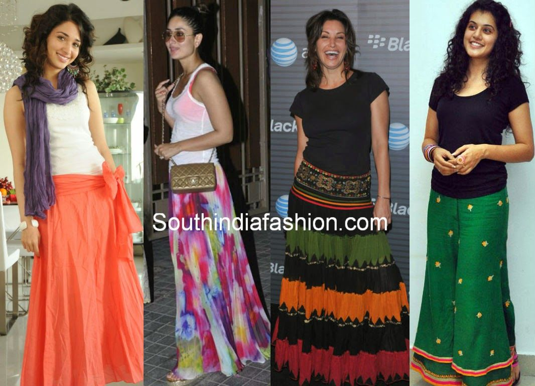 what to pair with maxi skirts | Fancy Indo Fusion | Pinterest ...
