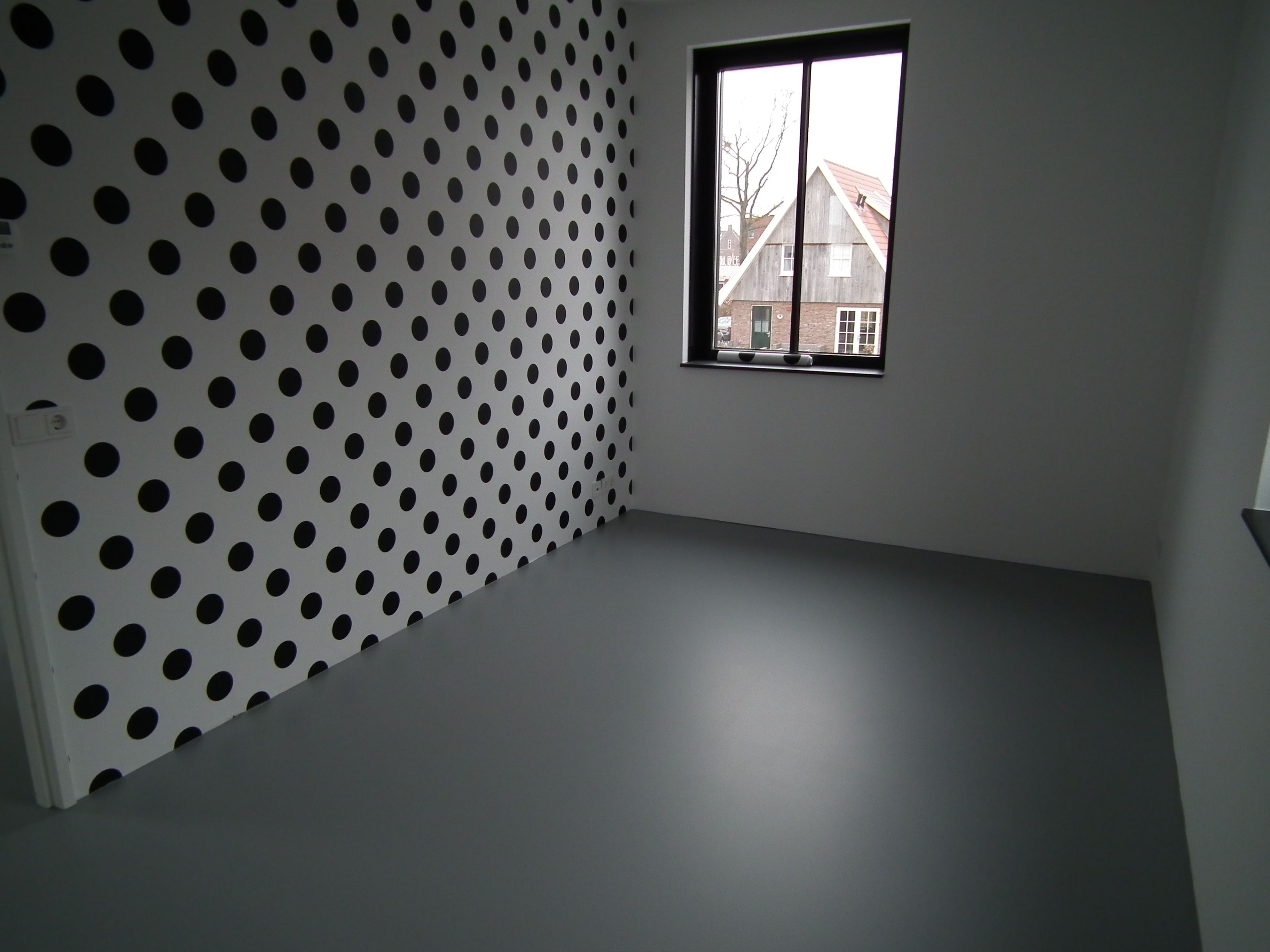 Pu gietvloer in slaapkamer gietvloeren flooring
