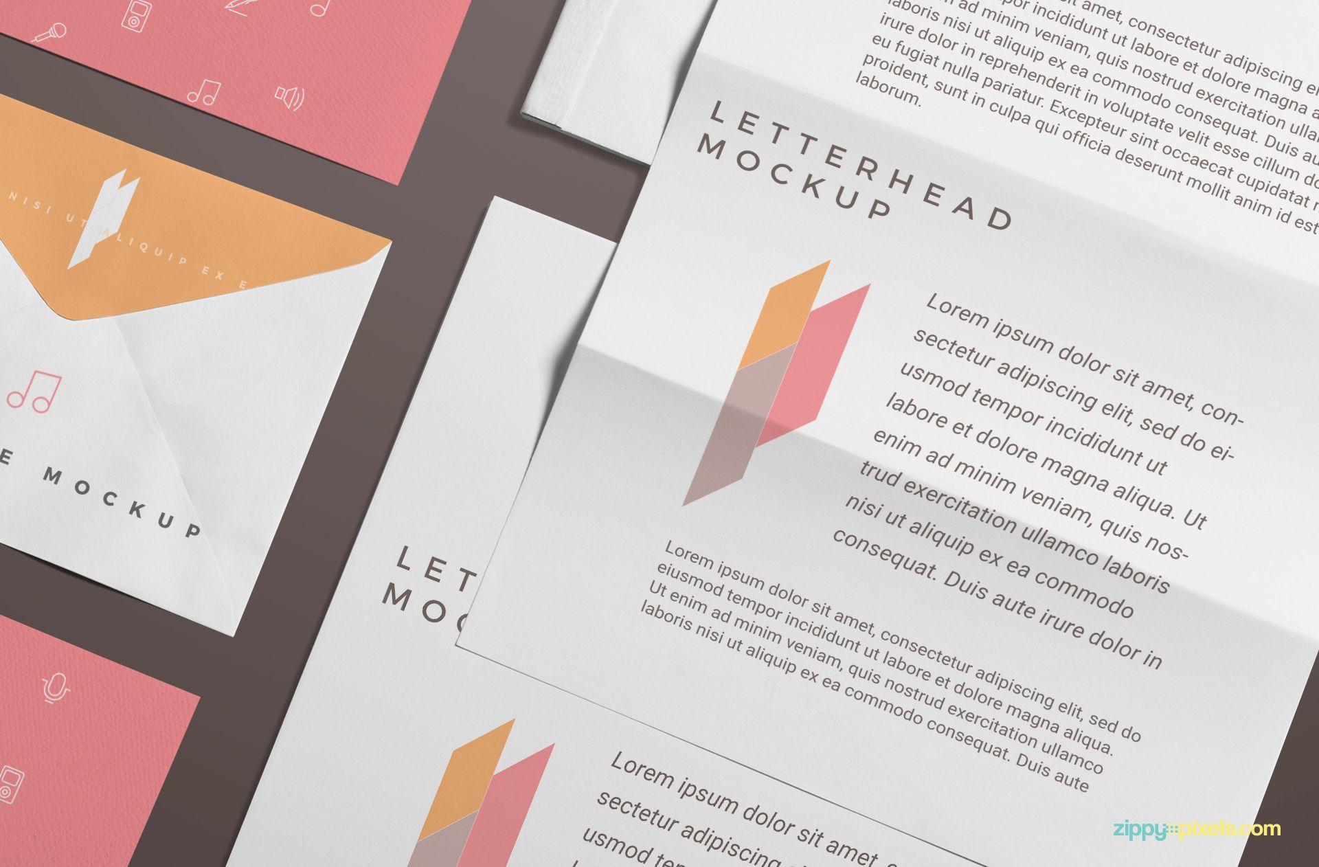 Free branding stationery mockup scene mockup free branding stationery mockup scene zippypixels reheart Choice Image