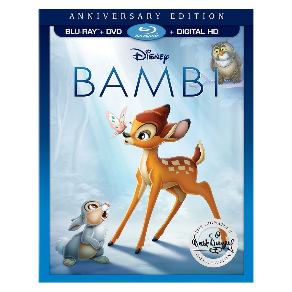 Bambi Anniversary Edition Blu Ray Combo Pack Blu Ray Movies
