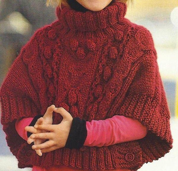 Favorit cherche modèle de poncho pour une petite fille en6 8 ans Forum  EU71