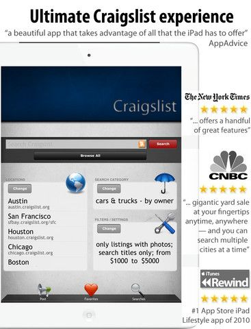 Bargain App Store Craigslist Pro Lets You Search Craigslist Much