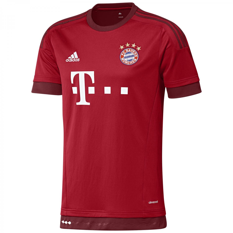 adidas FC Bayern München Home Trikot 2015/16 S14294 S FCB True Red/Craft