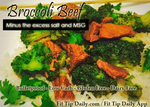 bulletproof Broccoli beef