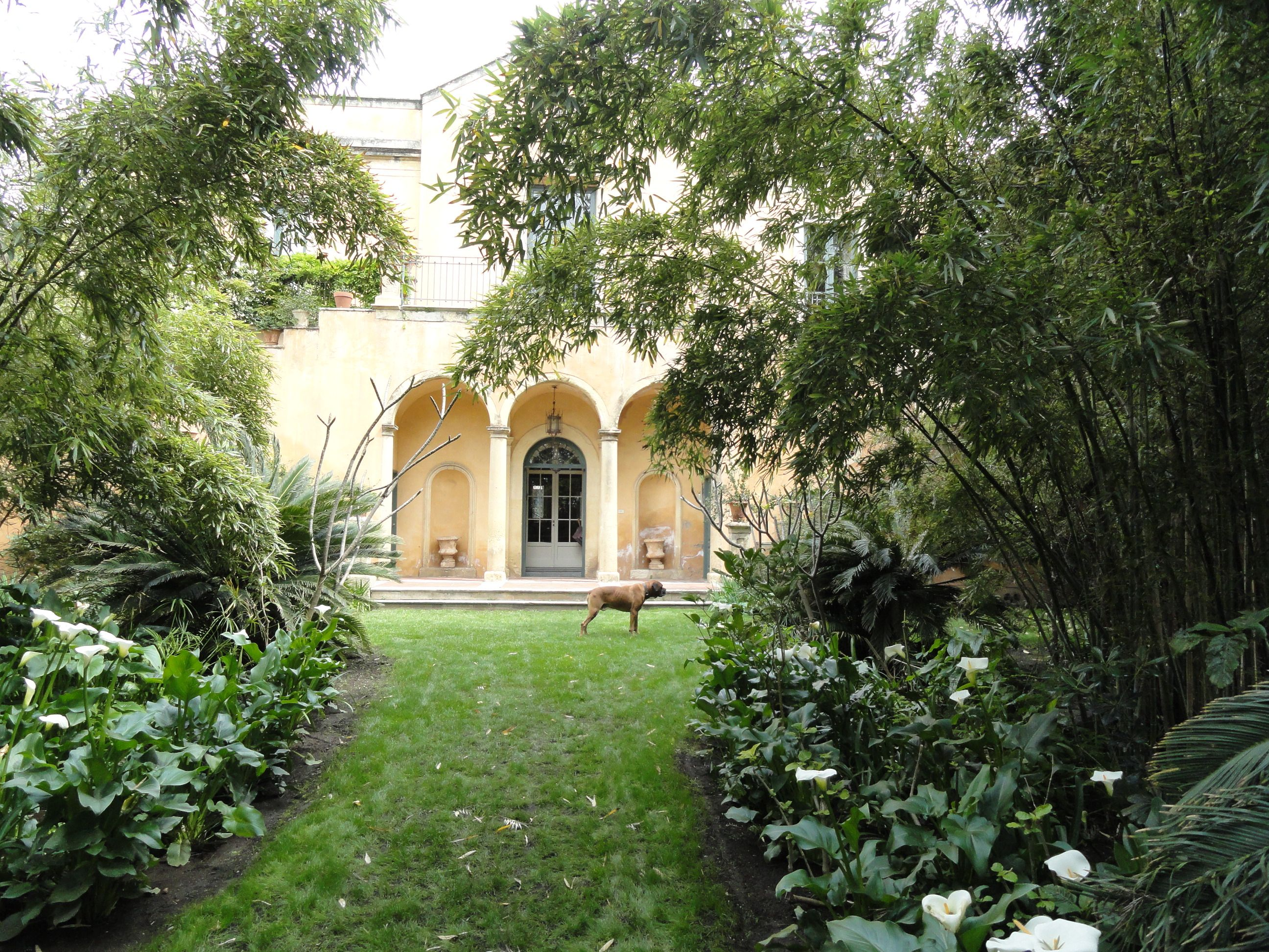 Garden Stanze Canalicchio Sicilië