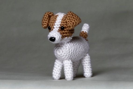 Amigurumi Jack Russell Pattern : Jack russell amigurumi decorating ideas i love specific items