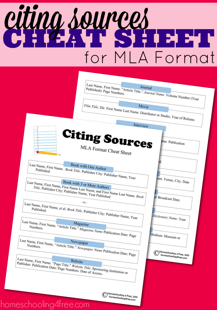 Mla Quote With All Of The Different Rules That Apply Learning To Cite Sources