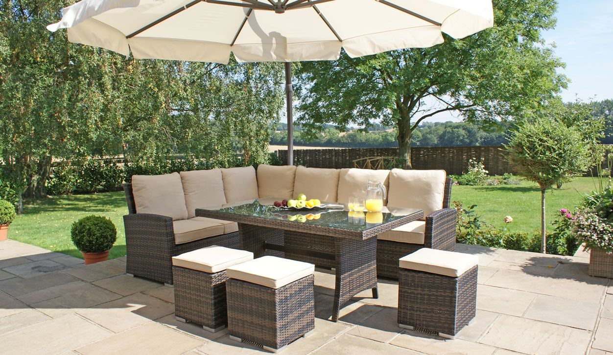 Rattan Garden Furniture | Maze Living Garden Furniture Maze Living : garden table sets uk - pezcame.com
