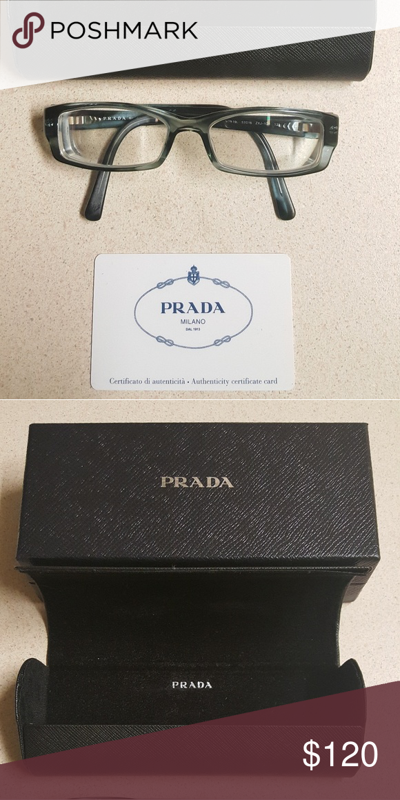 3e611c288641 Prada frames You just need to pop off the old lens and put in your own  prescription lens! Prada Accessories Glasses
