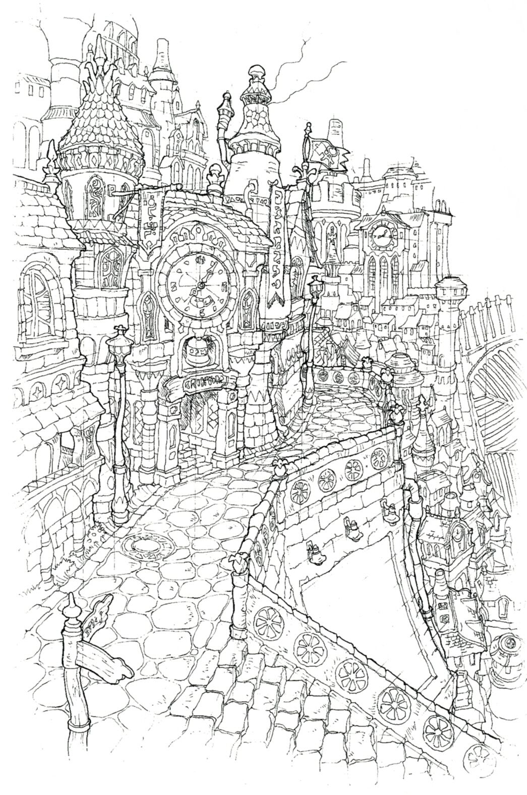 final fantasy character coloring pages - photo#23