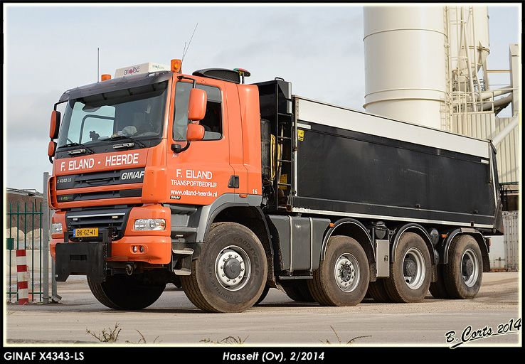 GINAF X4343-LS 8x6