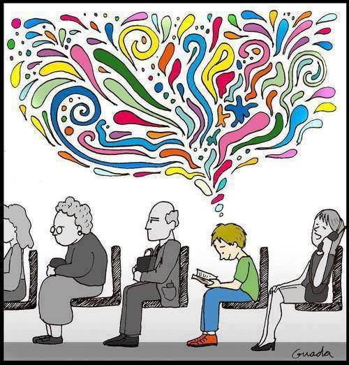 Reading colours your life