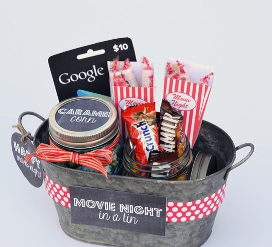 Movies Gift Basket Ideas Diy + Movies Gift Basket Ideas