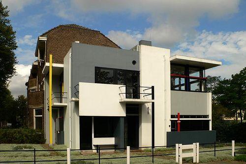 Cl Sicos De Arquitectura Casa Rietveld Schroder Gerrit Rietveld Vanguardias Figurativas