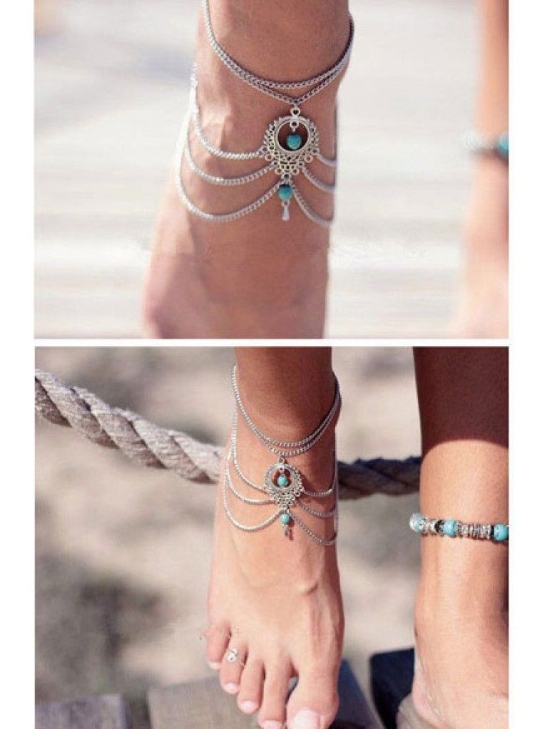 bohemian summer chain buy foot save online bracelets ankles women cheap sandals big bracelet jewelry wedding beach anklet anklets product barefoot ankle for