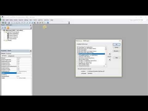 Excel Vba Scrape Webpage for URLs and Create Hyperlinks