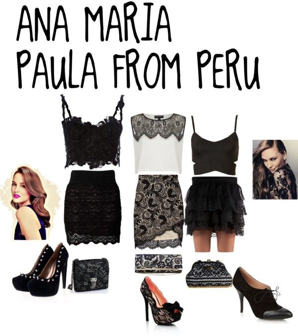 """MY NEW PARTY SET WITH 3 OPTIONS WHICH DO YOU LIKE?"" by anamariapaula on Polyvore"