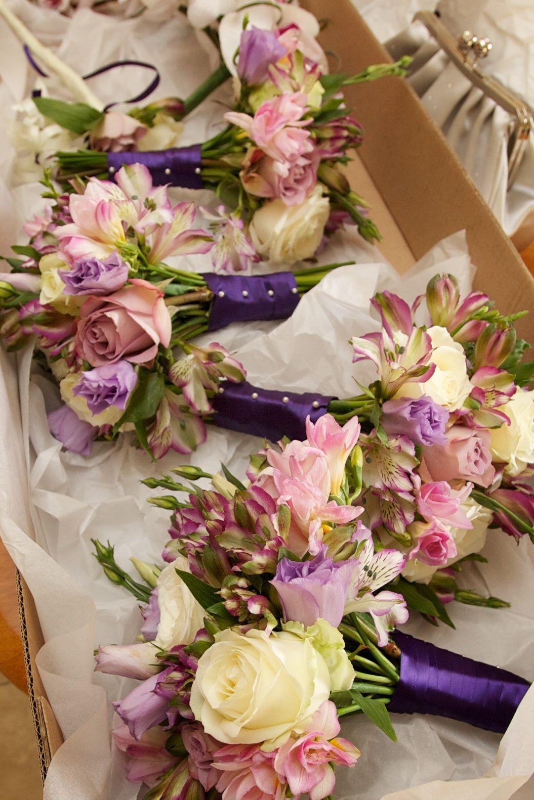 august wedding bouquets